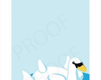 Pool Float Poster