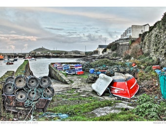 Red Boat at Ballycotton