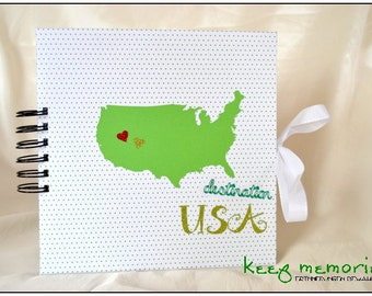 "Travel diary ""United States"