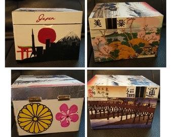 Custom cigar box