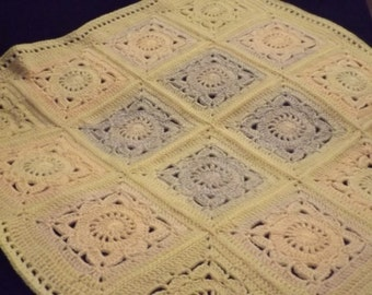 Pretty Flowers Baby Blanket