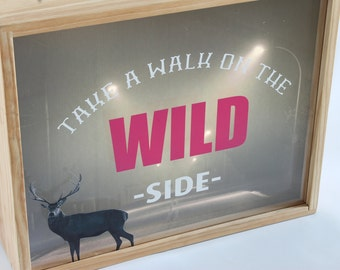 Double Layer Lightbox - Wild Side