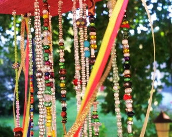 Colorful Beaded Mobile