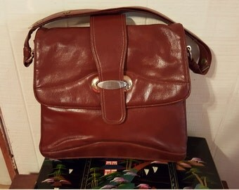 Zenith handmade leather handbag
