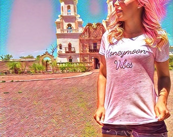Honeymoon Vibes | shirt | bride | engaged | fiance |