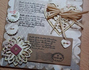 Vintage Style Greeting Card