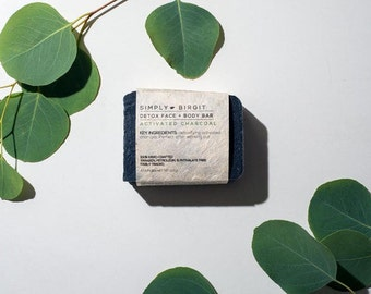 Activated Charcoal Body Detoxifying Soap