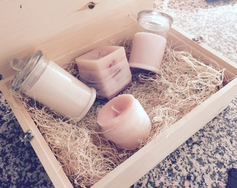 Soy scented candle giftbox