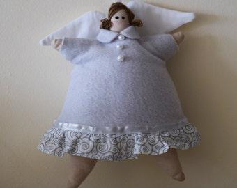 White Cupcake Angel