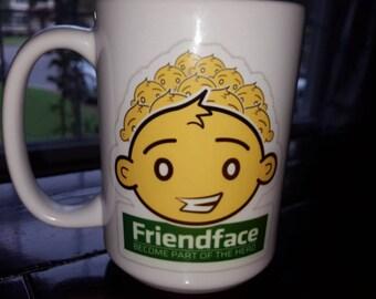 15oz Friendface IT Crowd Ceramic Mug
