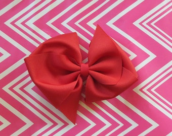 Solid Color Boutique Hair Bow