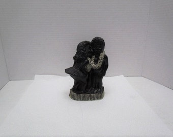 "Frank Scherman Black Coral Couple - Kehoni ""The Kiss"" by Amazing Treasures Shop"