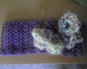 Hand crocheted headbands child sizes to teen