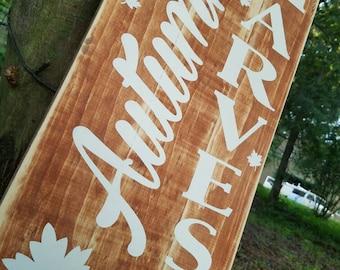 Fall Decor - Fall Sign - Autumn Decor - Farmhouse Fall Decor - Rustic Fall
