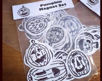 Pumpkin Magnet Set Halloween