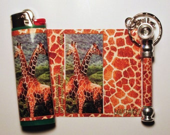 Giraffe'z Matching Pipe and Lighter