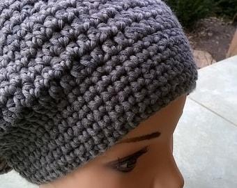 Gray hat lady