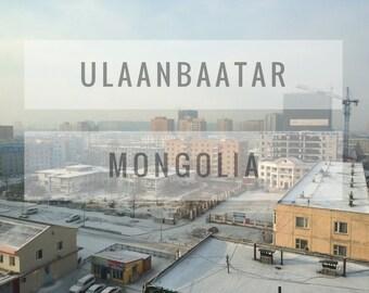 Ulaanbaatar, Mongolia Print