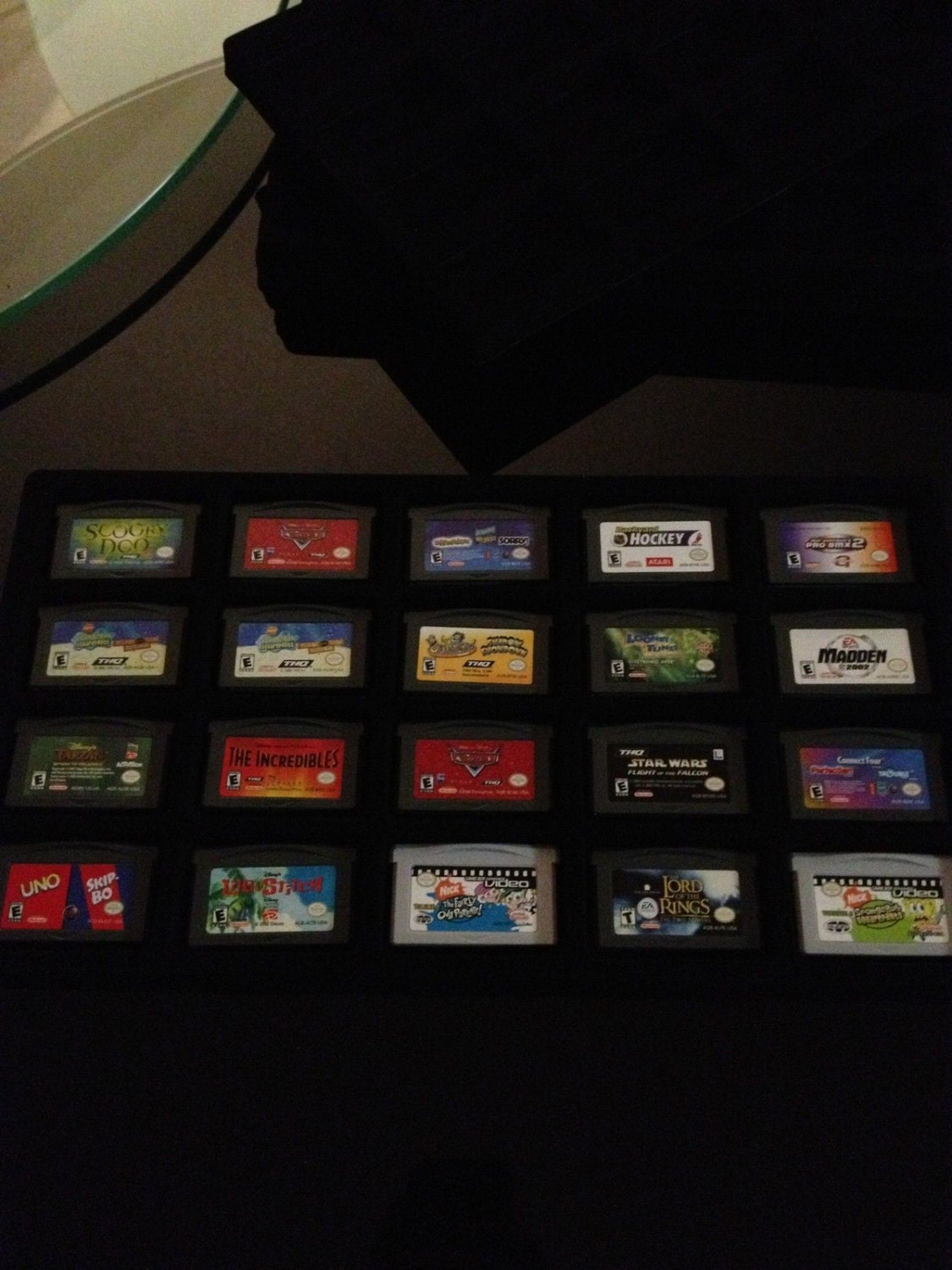 Nintendo Gameboy Gba Advance Display Tray Case Inserts