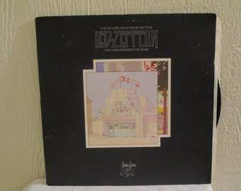 Led Zeppelin - The Song Remains the Same - Original Edition -  Prestige Record in  VG+ Condition