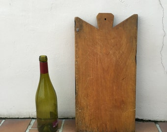 Antique Vintage French Bread Or Chopping Cutting Board Wood 213