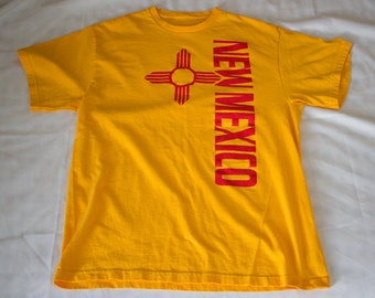 Vintage NEW MEXICO Tourism Mens Tshirt