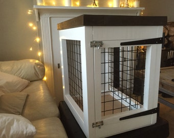 Custom made crate for your fluffy friend