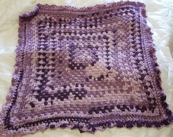 Purple Baby Afghan