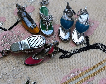 Charms Summer Shoes Flip Flops