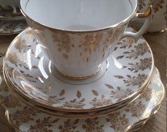 Vintage tea set English Bone China