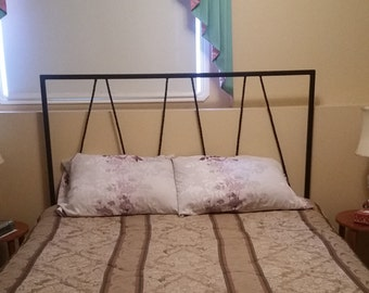 Double bed wall mount headboard