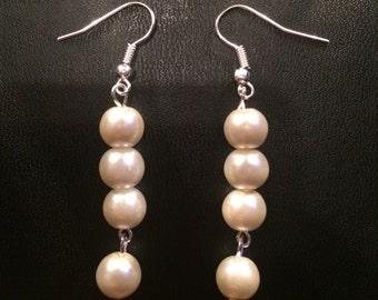 Handmade Pearl Earrings