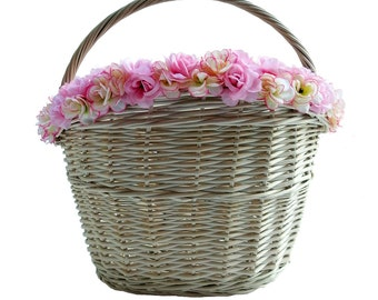 Bike basket Rose
