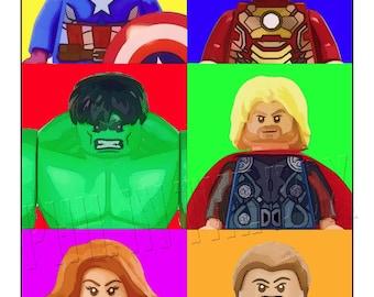 Avengers Assembling card