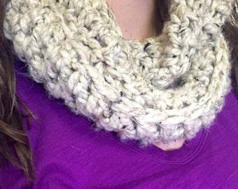 Crochet Wool Cowl