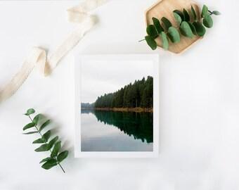 Fine Art Photography Lake Reflection Landscape Wall Art Print