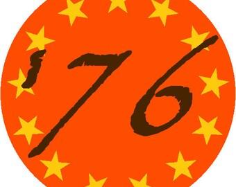 50 Class of '76 Decals