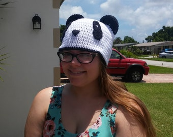 Teen-Adult panda hat