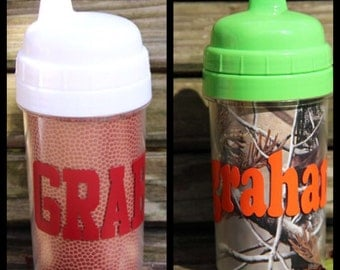 10oz Personalized Sippy Cups