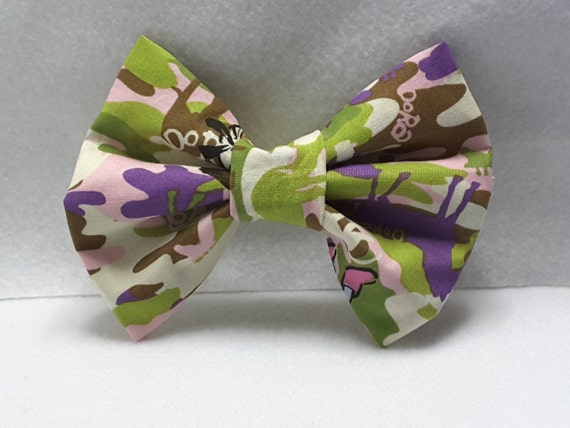 Dora fabric bow,hair clips, hair accesories -available in diff pattern!