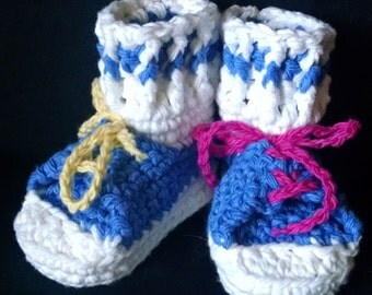 Hand-crafted Baby Booties