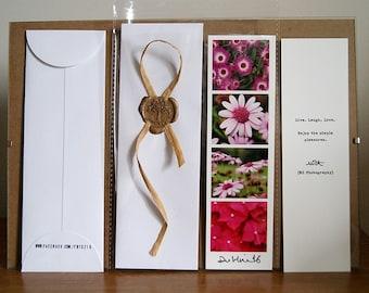 Floral Bookmarker