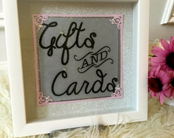 Cards and Gift Sign