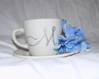 Custom Tea cup and saucer