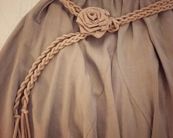 Rose handmade belt