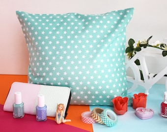 Pillow DIY Kit, Sewing Kit, Easy Sewing Project, Sewing for Beginners, Craft Kit, Pillow Sewing Kit, Stars Pillow, DIY Home decor