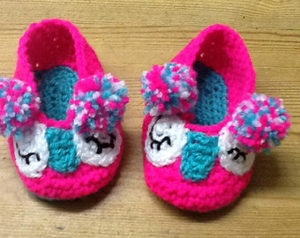 Baby Owl Slippers