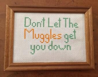 Harry Potter Cross Stitch Quote