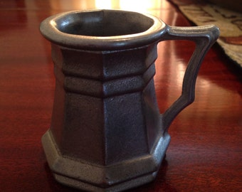 Vintage pewter pitcher small