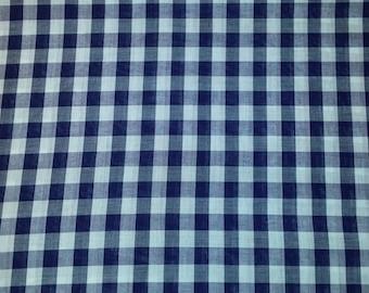 Polycotton sheet marine blue